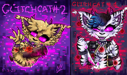 THE MOST DANGEROUS CATS OF GLITCH CITY