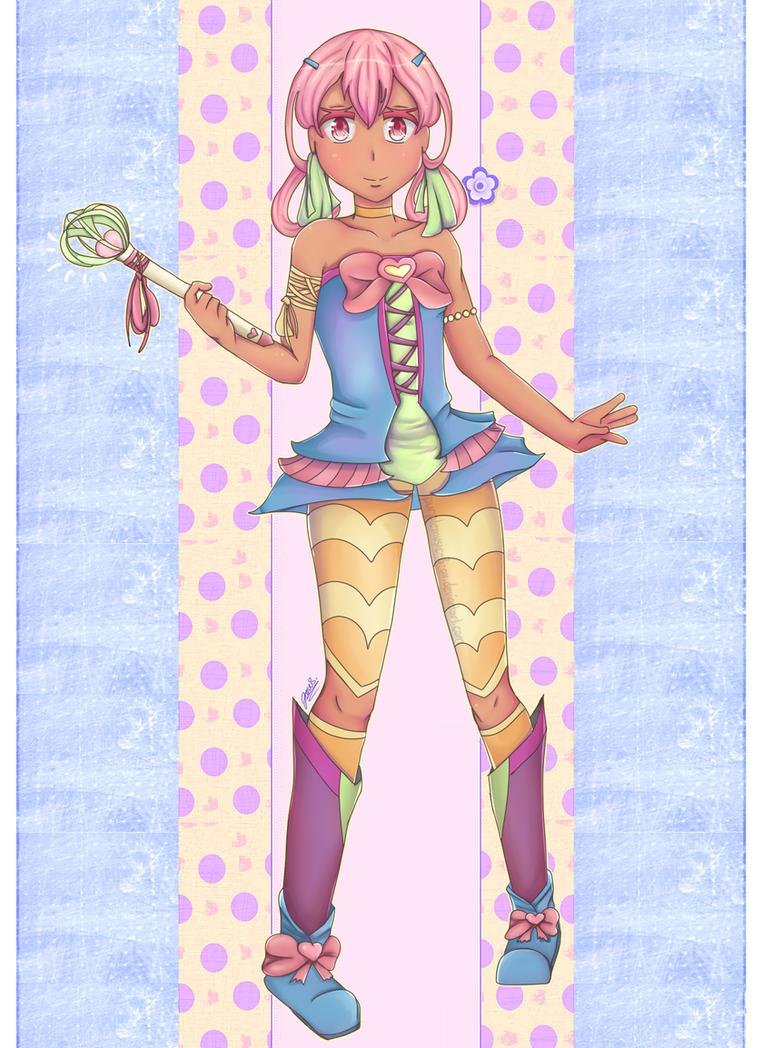 OC: Magical Girl by purplemusic-B-ox