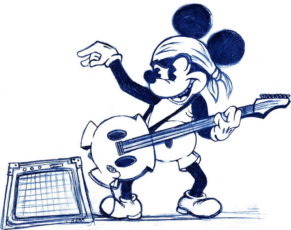 Resultado de imagen de raton rockero