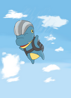 Bagon Skydiving by Akimar