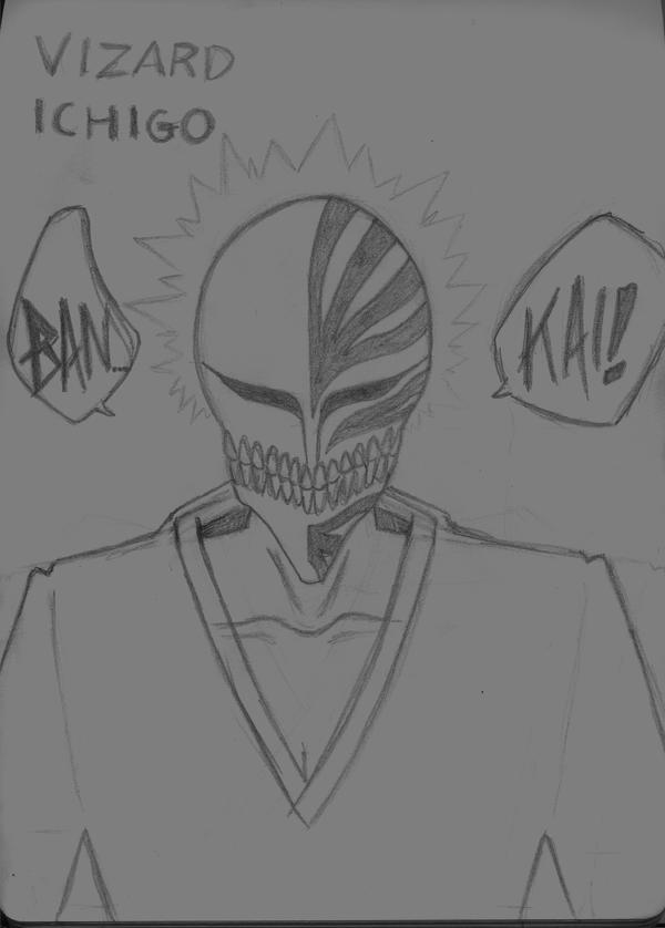 Ichigo vizard bankai by claudekun on deviantart - Ichigo vizard mask ...