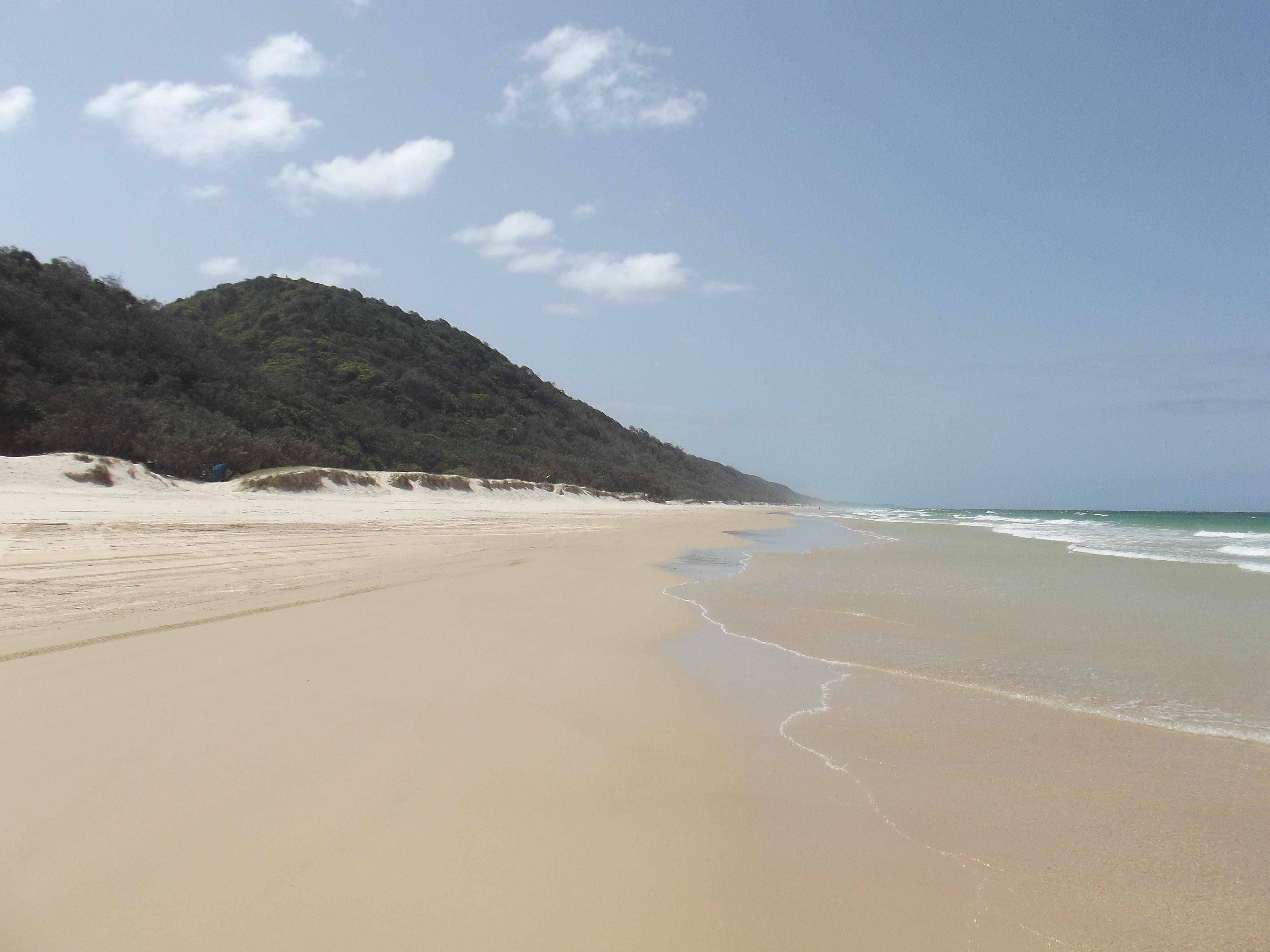 Cooloola beach