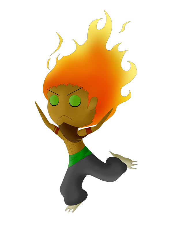 Burning Xaden by DaneInFlames