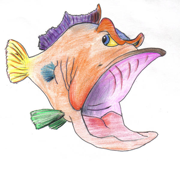 Fwa fish with attitude by w0m6at on deviantart for Fish with attitude 2