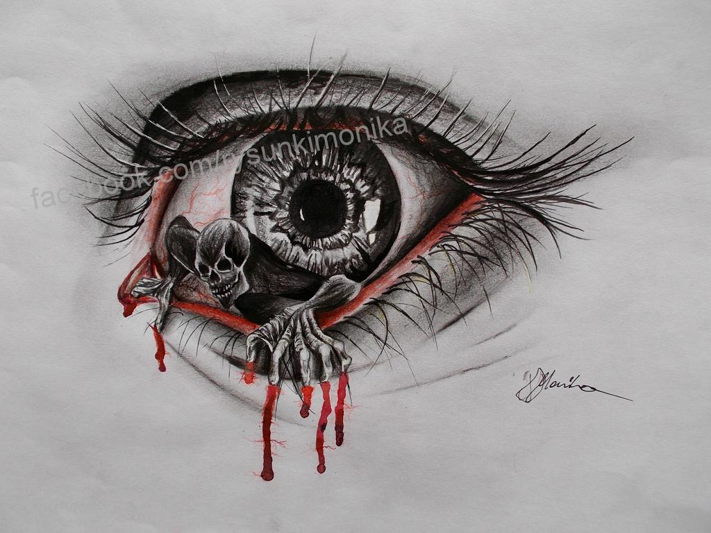 Demon Eye By Mydrawings11 On DeviantArt