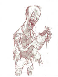 zombie sketch by madmaglio
