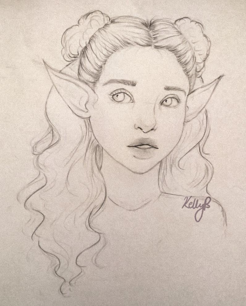 Meira - Sketch by weenugget on DeviantArt