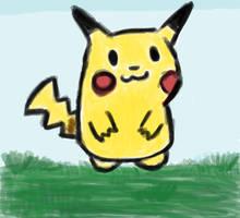 Just a pikachu.