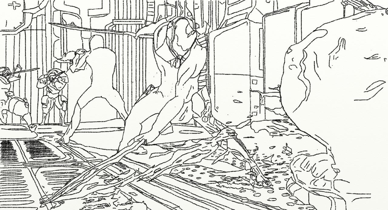 how to draw a warframe