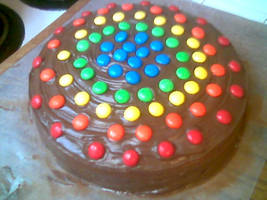 Rainbow Cake by werewolf3361