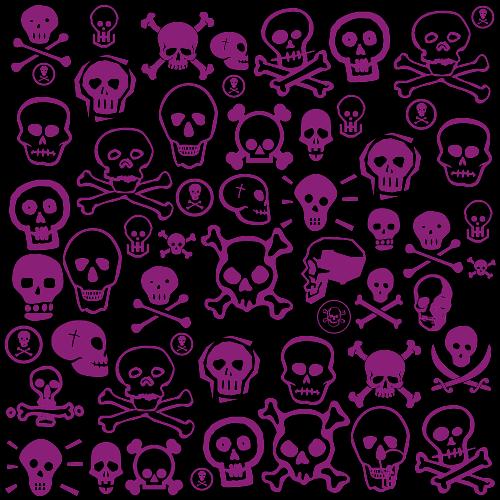 pink skull wallpaper hd pink and black skulls by