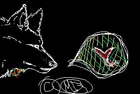 .: Wolf Loves Uuu :. by MademoiselleToxic