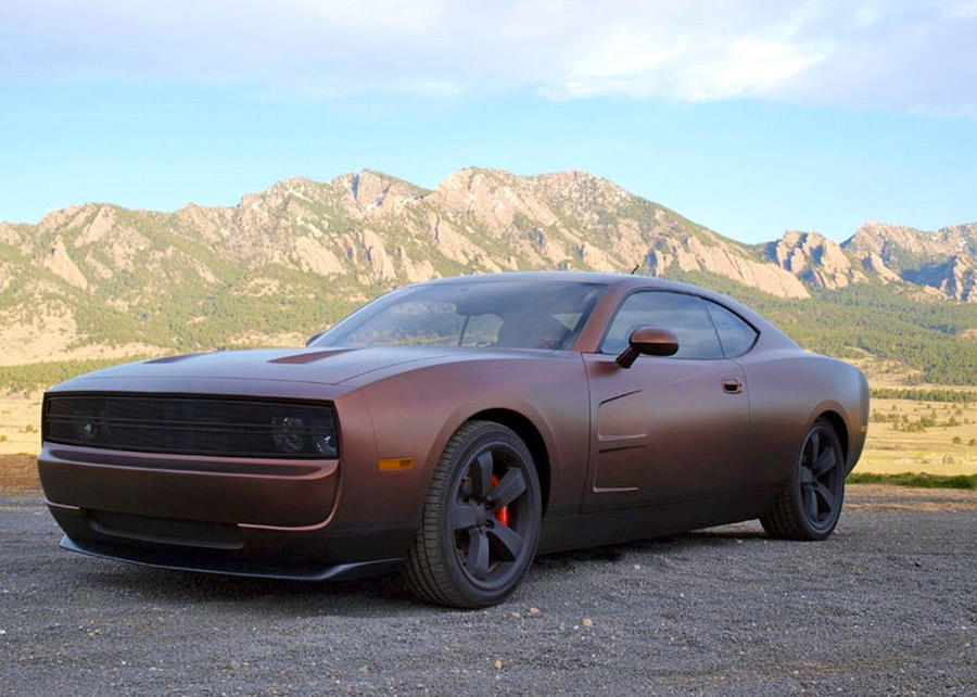 cars details in built customized custom hot dodge restomod charger