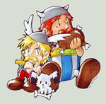 Asterix, Obelix + Idefix