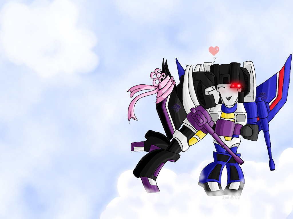Skywarp Kisses by Folkeye