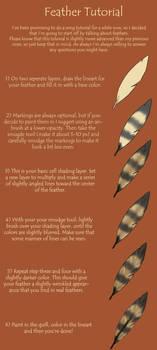 Feather Tutorial by Valrayne