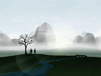 Misty Landscape by symbot