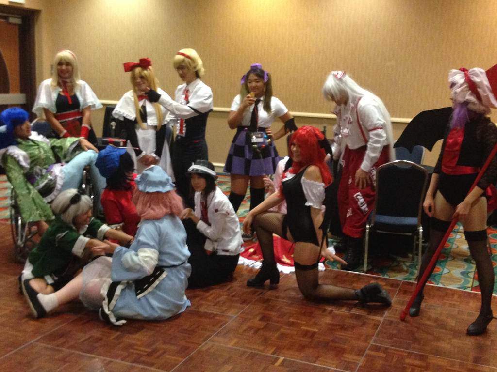 TouhouCon 2014-Touhou Project Gathering Group Shot by jay421501
