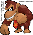 DONKEY KONG -Super Smash Bros- HD Vector
