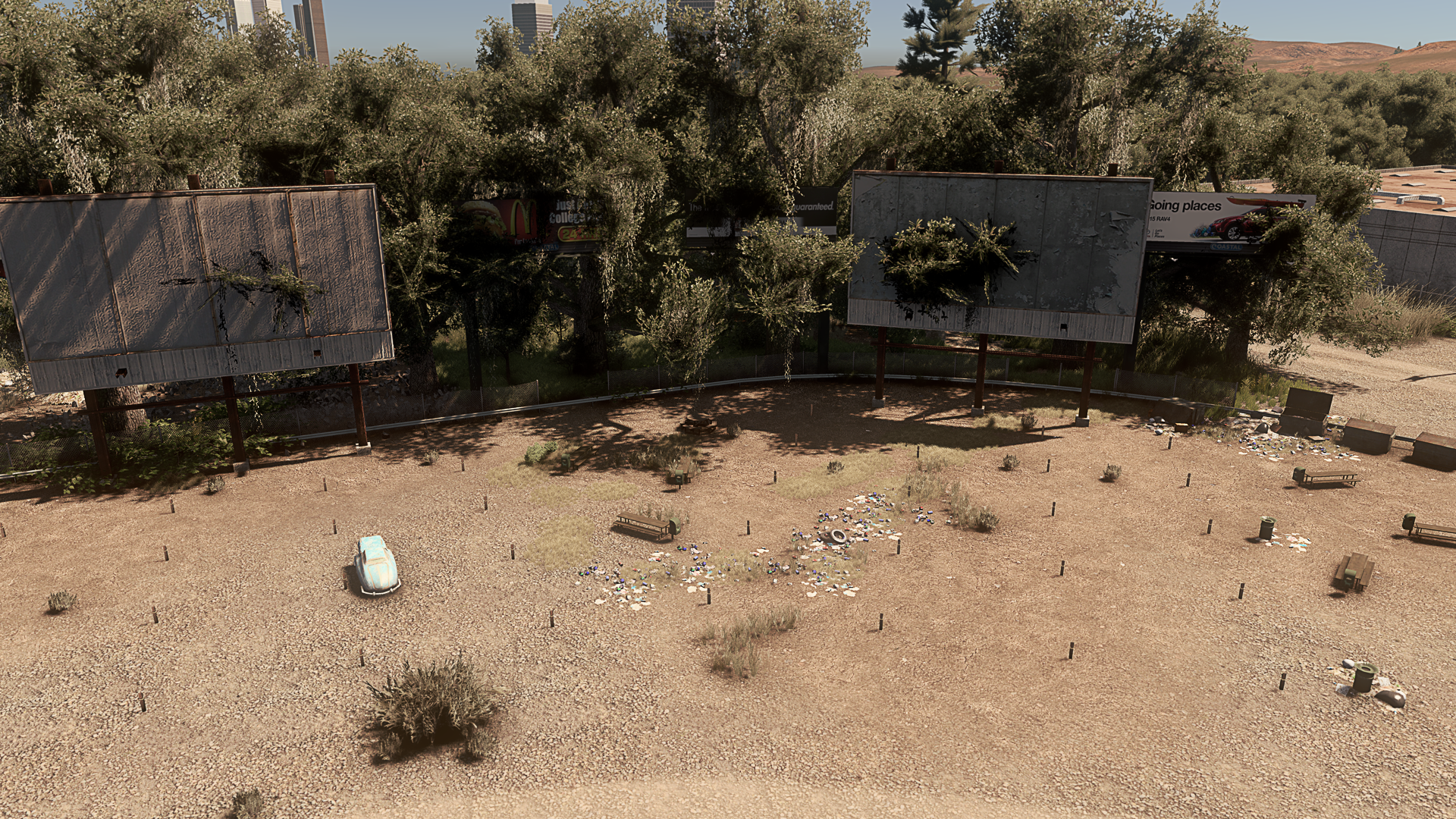 Old Drive In Theater Citiesskylines