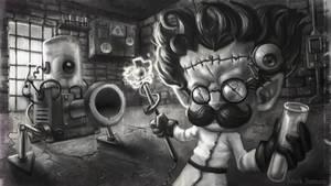 Mad Doctor Heimerdinger - LOL fanart