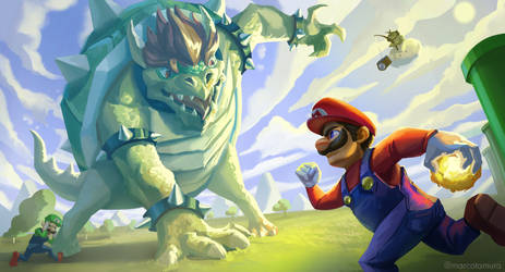 Mushroom Kingdom Final Battle