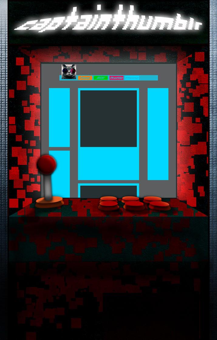 Arcade Machine Bg by Atomicsickness