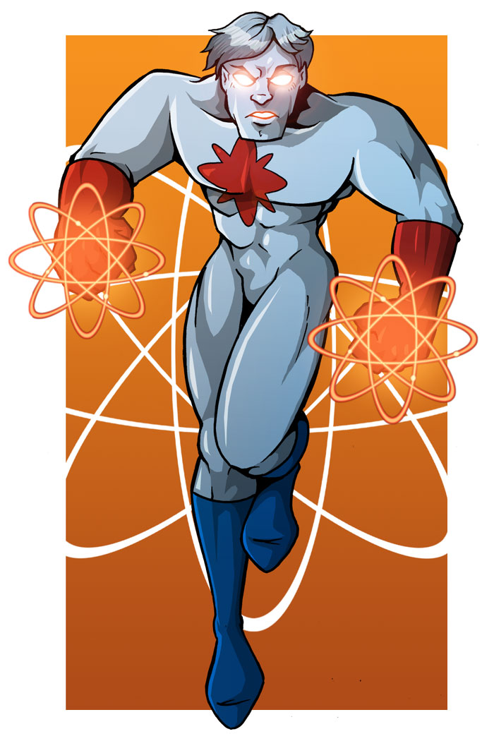 C is for Captain Atom by MachSabre