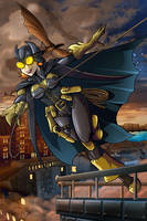 Steampunk Batgirl by MachSabre