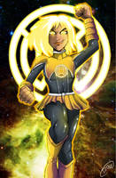 Sinestro Corps - Mistletoe by MachSabre