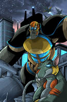 Beast Machines Colored by MachSabre