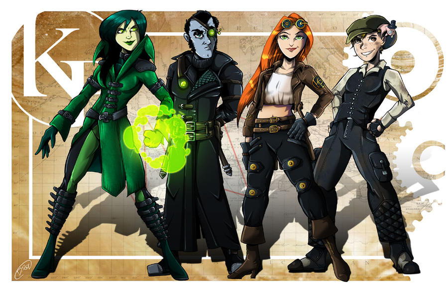 Steampunk Kim Possible by MachSabre