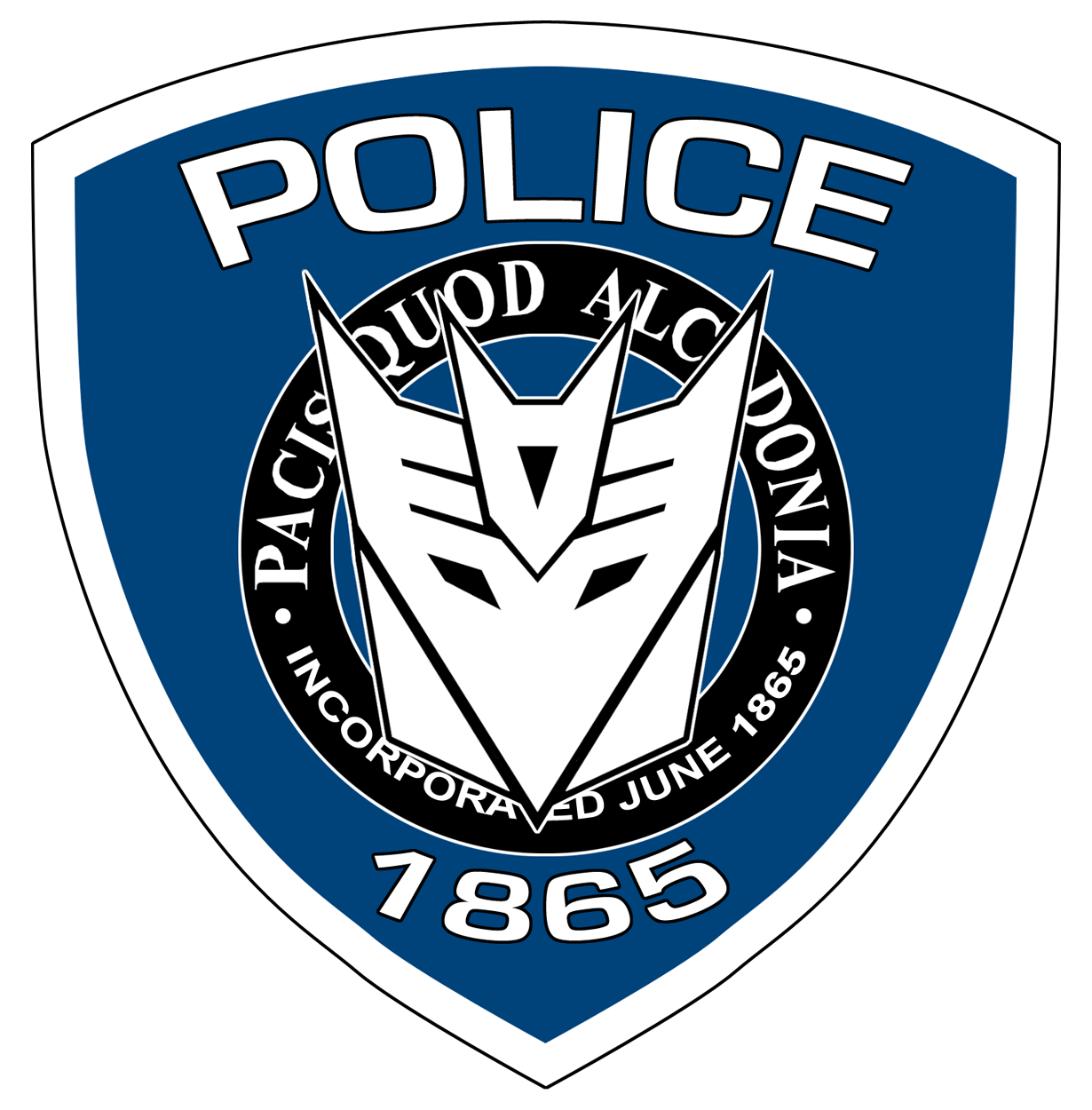 Movie Barricade Police Logo