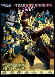 Transformers Issue 41-Recolors