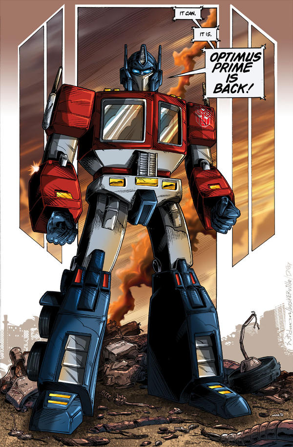 Optimus Prime is Back by MachSabre