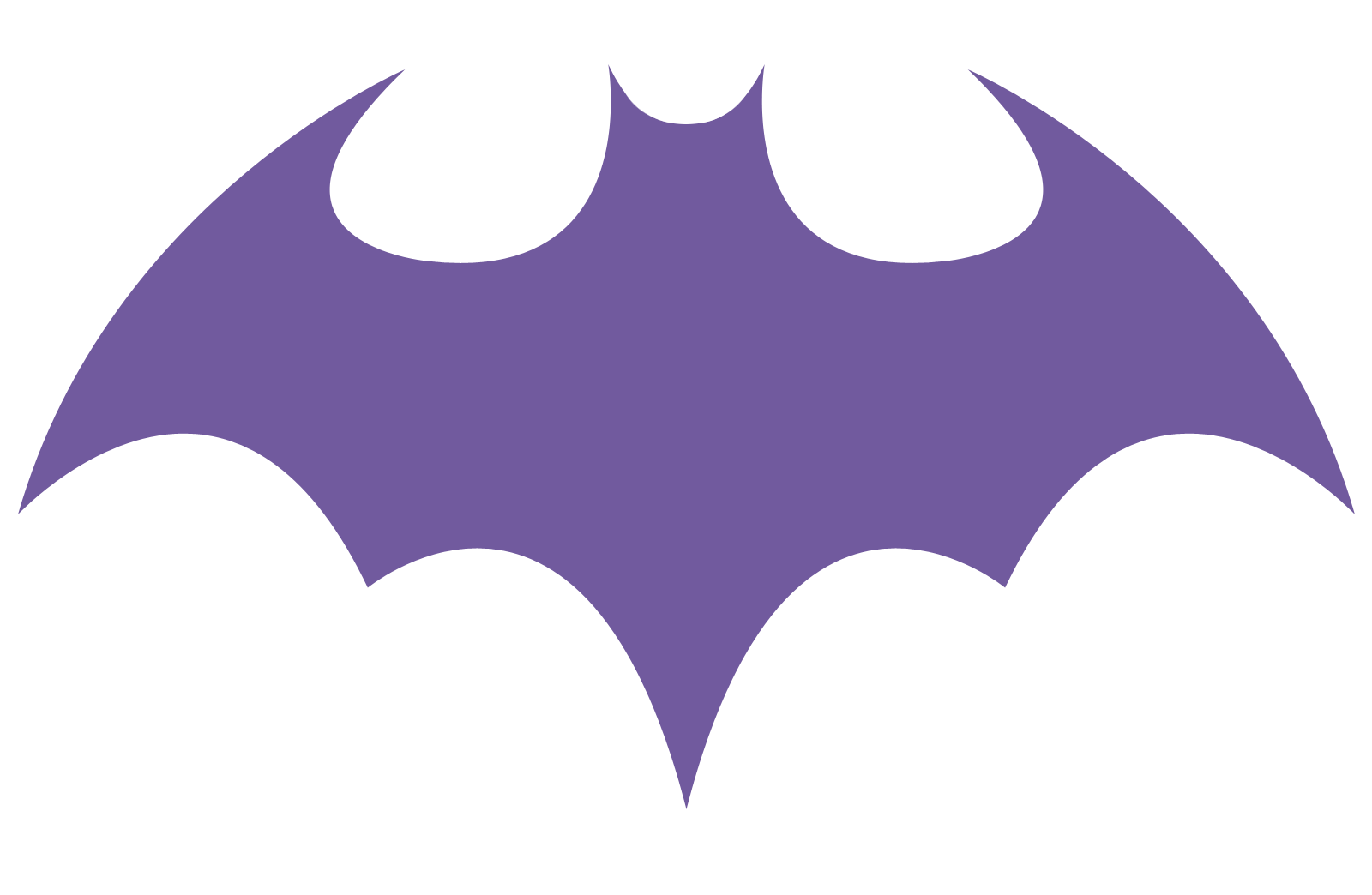 Magic image inside batgirl logo printable