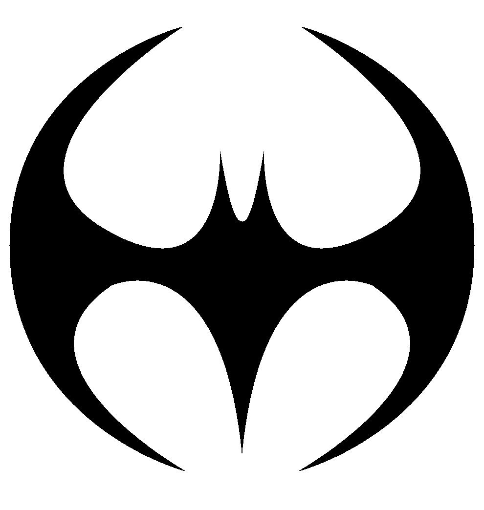 Coloring pages batman logo png