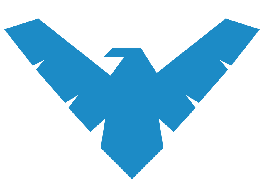Night Wallpaper No Logo By Ualgreymon On Deviantart: Nightwing Logo By MachSabre On DeviantArt
