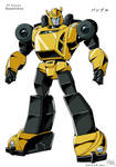 Guido's Tf Victory Bumblebee colored