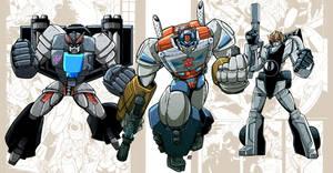 Machine Wars Prime, Prowl and Screamer