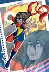 Kamala Khan IS Ms. Marvel