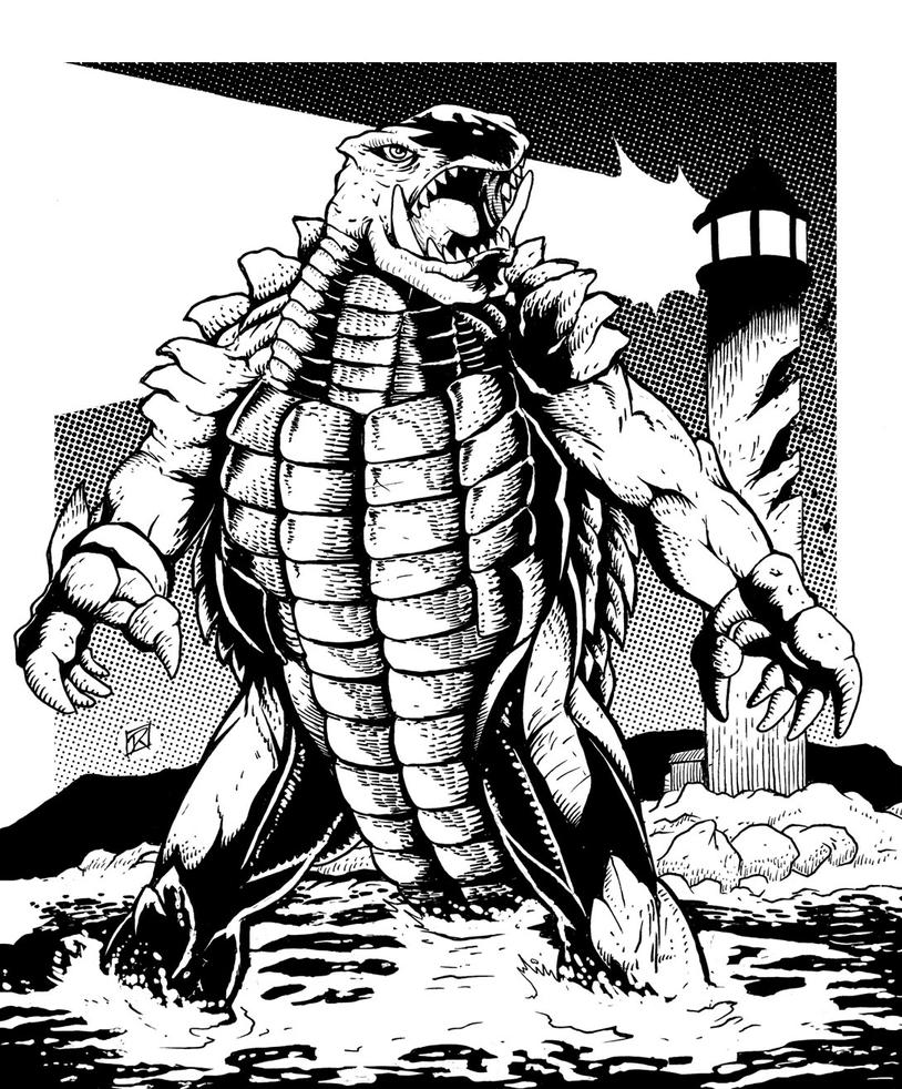 Gamera by MachSabre