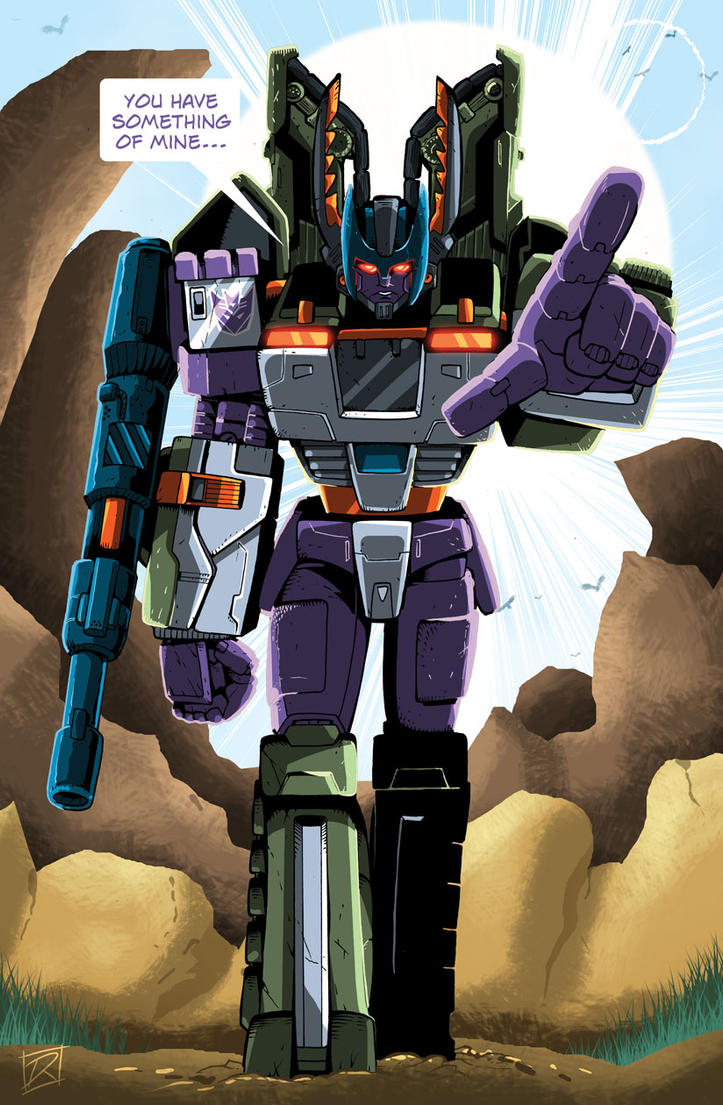 CW Armada Megatron Colored by MachSabre