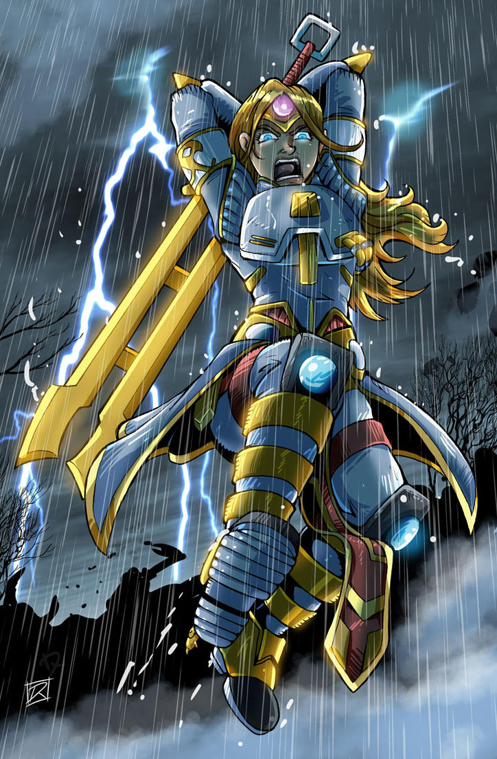 Wildstar Science Warrior by MachSabre