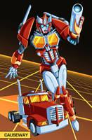 Transformers OC - Causeway by MachSabre
