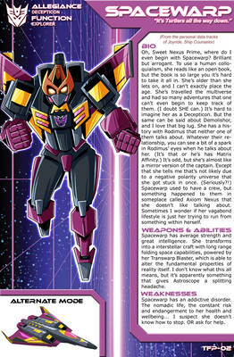 Transformers Planetary Bio: Spacewarp
