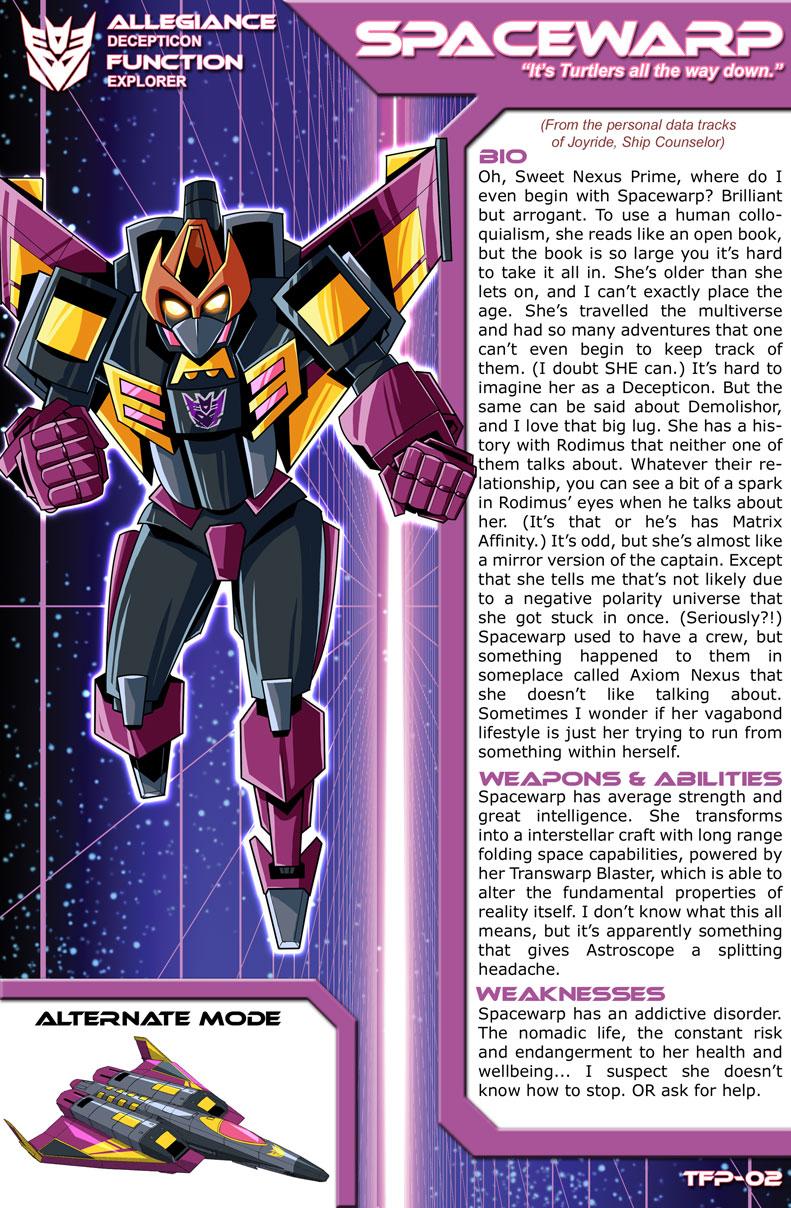 Transformers Planetary Bio: Spacewarp