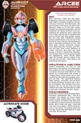 Transformers Planetary Bio: Arcee