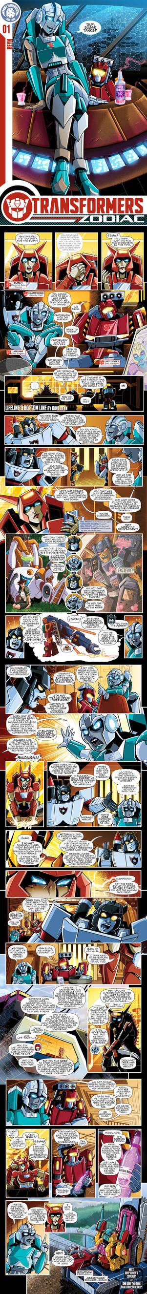 Transformers Zodiac: 01 Lifeline