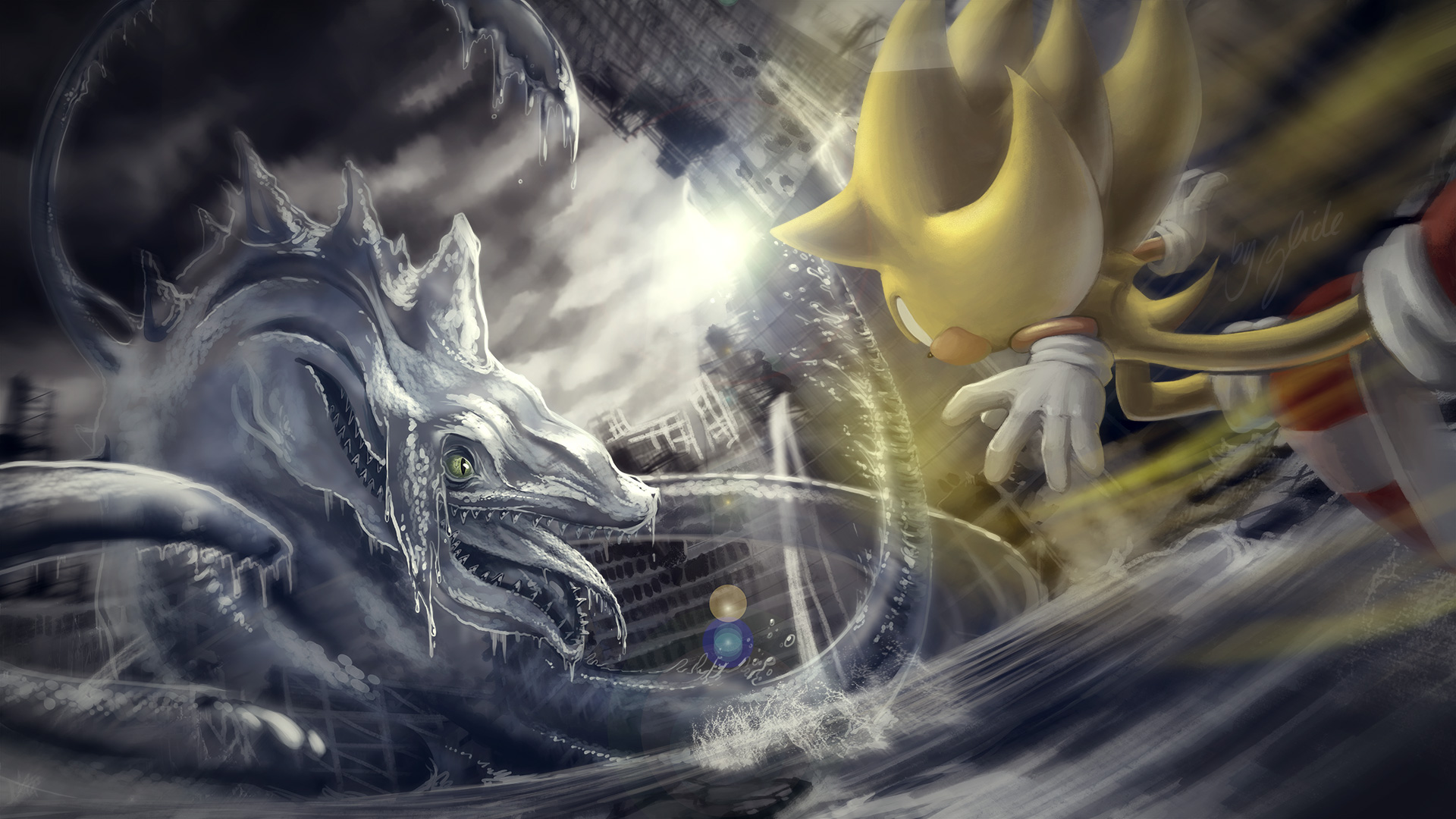 Perfect Chaos Sonic Adventure By Zlide On Deviantart